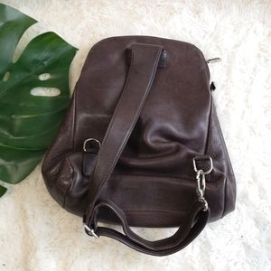 Roots Bags - Roots vintage leather backpack